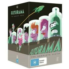Futurama Complete Series Box Set (DVD, 2017, 27-Disc Set)