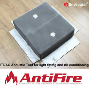Envirograf Fire & Acoustic Protection for Recessed Light Fittings - 1 Hour Rated