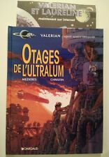 VALERIAN ** TOME 16 OTAGES DE L ULTRALUM + FLYER  ** EO  MEZIERES/CHRISTIN