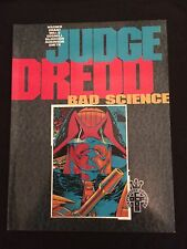 JUDGE DREDD: BAD SCIENCE Fleetway Trade Paperback