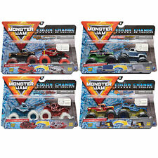 Monster Jam Official 1:64 Scale Die-Cast Trucks 2-Pack *CHOOSE YOUR FAVOURITE*