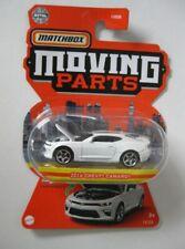 2016 Chevrolet Camaro  White*** Matchbox Moving Parts 2021 968L M1:64