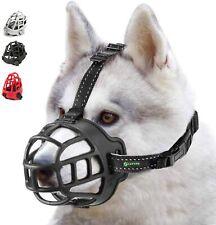ILEPARK Dog Muzzle SIZE 1 Soft Silicone Basket Muzzle for Dogs