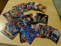 Almost Full Lot Set 1996 Spider-Man Premium Eternal Evil 101 cards Marvel