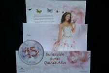 Invitaciones de Quinceañera (Spanish Quinceañera Invitations)Fiesta,Favors15anos