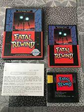 Fatal Rewind, Sega Genesis / Mega Drive TBE