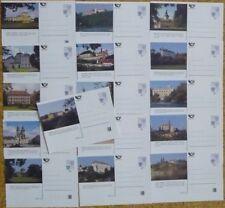 Tschechische Republik aus 1997/99 ** postfrisch Bildpostkarten Serie!
