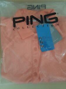 Ping Ladies Golf Shirt Size 10