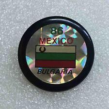 football soccer pin BULGARIA WORLD CUP MEXICO 1986 very rare