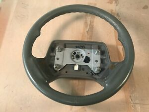 87-93 OEM Cadillac Allante Steering Wheel assembly TAN leather wrapped