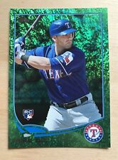 2013 Topps Emerald Foil parallel Mike Olt RC Rookie card #87 Texas Rangers Cubs