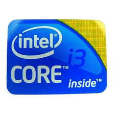 Intel Core i3 Inside Sticker Badge 1st Generation - LAPTOP LOGO - 21mm x 16mm