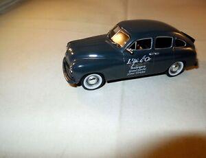 1:43 Oldtimer Modellauto FORD VEDETTE ABEILLE Limousine 4-türig grau 1:43