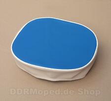 Sitzbezug blau-beige für Simson KR50 *NEU*