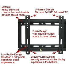 High Quality Wall Mount Bracket for most 14''~42'' LED LCD Plasma Flat Panel TV