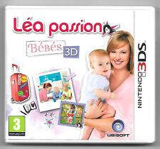 Léa passion bébés 3D + code pin Jeu Nintendo 3DS
