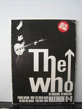 THE WHO Best of The Who SHEET MUSIC BOOK Free UK Post