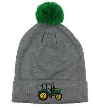 NEW Toddler Size Gray John Deere Stocking Cap  Tractor Design LP74712