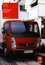 Renault Trucks Maxity 05 / 2009 catalogue brochure tcheque czech RVI