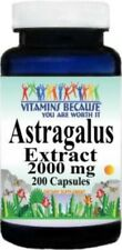 Astragalus Extract 2000 mg - 200 Capsules Powerful Immune Booster