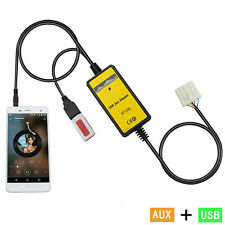 USB AUX-In Adapter Car MP3 Player Interface Fit Mazda 3/5/CX7/323/MX5/MPV/Miata