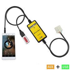 USB AUX-In Adapter Car MP3 Player Interface Fit Mazda 3/5/CX7/323/MX5/MPV/Miata