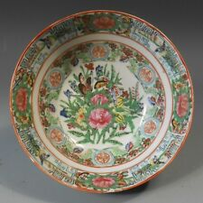 Fine Old China Chinese Rose Medallion Pottery Bowl ca. early 20th century