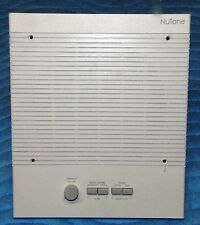 NUTONE_NR380WH, Indoor Remote Station