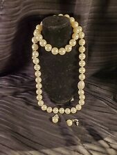Set Of Faux Pearl Necklace Set By Avon