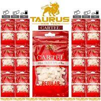 3000x CARTEL Filter Tips REGULAR 8mm Resealable Cigarette Bag Tobacco Smoking UK