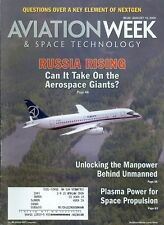 2009 Aviation Week & Space Technology Magazine: Russia Rising/Plasma Power