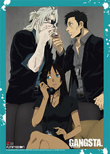 Gangsta Group Wall Scroll Poster with Blue Border Anime Manga NEW