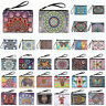 DIY Butterfly Special Shaped Diamond Painting Wristlet Bags Wallet Clutch Purse