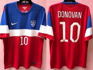 Jersey USA Soccer XL 2014 Landon Donovan 10 Galaxy Nike