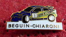 PIN'S VOITURE RALLYE FORD ESCORT RS COSWORTH YACCO BEGUIN CHIARONI EGF