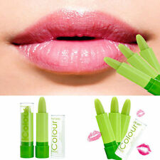 Beauty Waterproof Makeup Lips Magic Fruity Smell Green Changable Color Lipstick