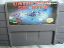 Universal Soldier (Turrican) for SNES Super Famicom consoles (ported from Amiga)