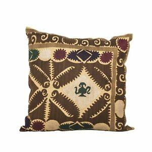 "18.11"" x 18.11"" Pillow Cover Suzani Pillow Vintage Fast Shipment With UPS 07570"