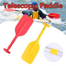 Kayak Canoe Inflatable Boats Orange Telescopic Mini Paddle Aluminum Shafts