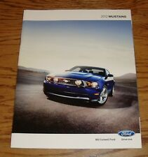 Original 2012 Ford Mustang Sales Brochure 12 Boss 302 Shelby GT500