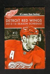 Detroit Red Wings--Pavel Datsyuk--Niklas Kronwall--2013-14 Schedule--Fox Sports