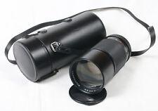 Braun Neovaron 200mm f/3.5 Rare Pentax K mount Telephoto Lens