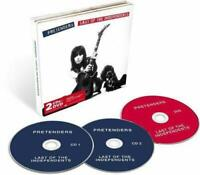 PRETENDERS – LAST OF THE INDEPENDENTS DELUXE EDITION 2xCDs + DVD (NEW/SEALED)