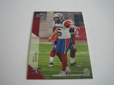 2014 CFL UPPER DECK FOOTBALL SEAN WHYTE CARD #52**MONTREAL ALOUETTES**