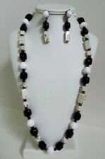 BEAUTIFUL VINTAGE SIGNED MIRIAM HASKELL NECKLACE WITH MATCHING EARRINGS JEWELRY