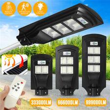 900/1800/2700W Solar Street Light Timing Control+Motion Sensor Outdoor