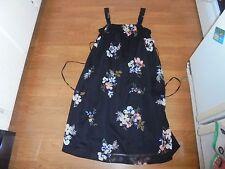 NWT Liz Lange Maternity black floral sundress size L $29.99