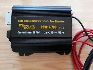 ENERGIE MOBILE  PSW12 700           Convertisseur 12v 220v