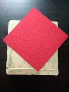 Neuf Interface 40 dalles moquette qualité pro rouge brique 10m² new carpet tiles