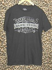 Lucky Brand No 1 Blue Jeans of America dark gray Men's Medium T-Shirt